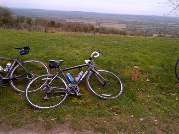 view from white horse, brill ride 63mile
