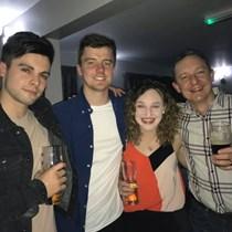 Georgia, Ben, Archie & Rob