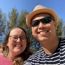 Claire and Jason Gonzalez