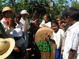 Children in Ambohibato with fresh water