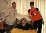Me and my Nan who suffers from MS