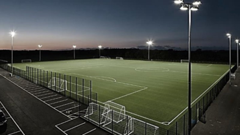 How Long Is A Football Pitch >> Crowdfunding to help fund a brand new, state of the art, full sized astro playing pitch at ...
