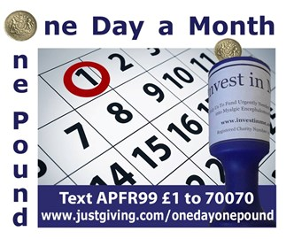 A Pound For Research - One Day-One Pound
