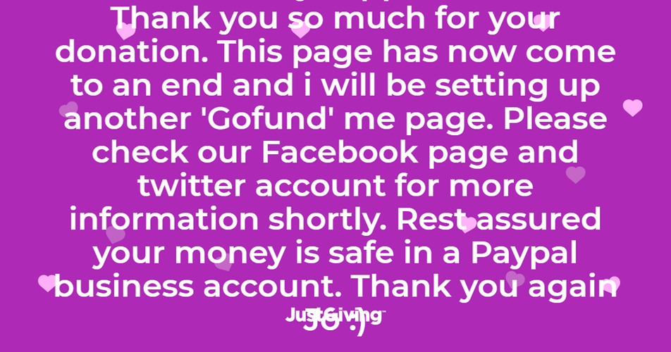Update from the Page owner