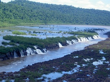 Mocona Falls, near project area