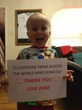Thank you from Zane