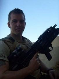 Rifleman Phil Allen Afghan 2009.