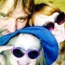 Claire, Darren and Scarlett Farr