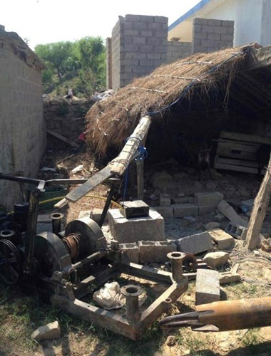 Crowdfunding to to get a water pump open in the village for