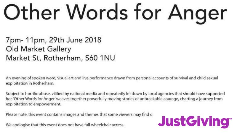 Crowdfunding To Support The Other Words For Anger Event In Rotherham