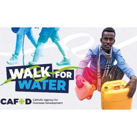 Parish of St Marie's and St Bernadette's Walk for Water CAFOD appeal
