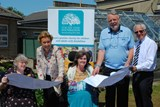 Patrons Terry Waite CBE & Amanda Cottrell launch the project
