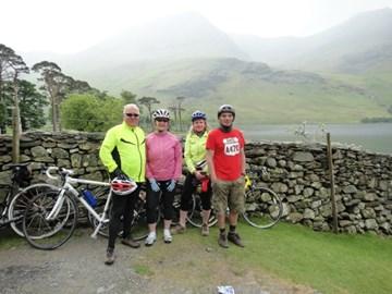 Training ride with Mari and Jonathan