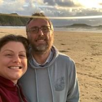 Helen and Geraint Worgan