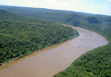 Aerial view of Misiones