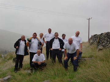 Training Weekend - Snowdon August 2009