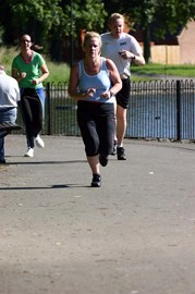 My first Parkrun - time 31.09